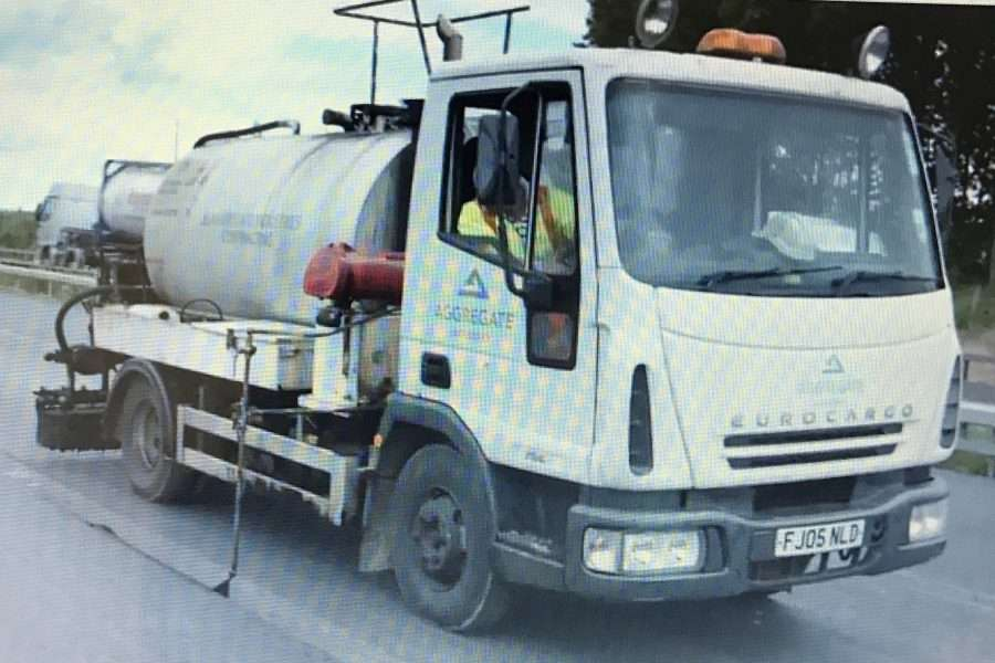 Poly Bond Spray Tanker