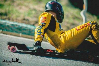 BituChem surface treatment specialists sponsor street luge star